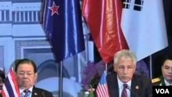 Američki sekretar za odbranu Čak Hejgel na sastanku ASEAN-a u Bruneju.