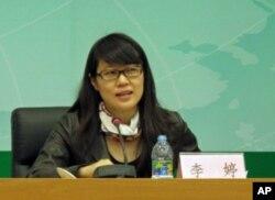 中国外交部处长李婷