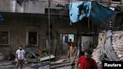 Aleppo ေဆးရံု ၂ ရံု ေလေၾကာင္းတိုက္ခိုက္ခံရ