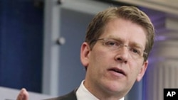 White House Press Secretary Jay Carney, May 3, 2011