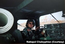 US-Thai army recruiter Nattapol Chaloyphian was on a mission in Afghanistan for 15 months between 2006 and 2007.