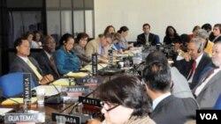 Grupo de amigos de Haití se reunieron a escuchar el reporte de la situación actual en la nación caribeña.