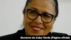 Maritza Rozabal, ministra da Educação de Cabo Verde
