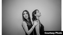 Singer-songwriters Josie Field (left) and Laurie Levine, in a publicity shot for their critically-acclaimed 'Tigerlily' album.