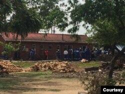 The late Robert Mugabe's homestead in Kutama, Zvimba communal lands. (VOA)