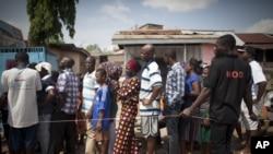 加纳人在星期六投票