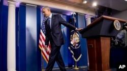 ბარაკ ობამას უკანასკნელი პრეს-კონფერნეცია პრეზიდენტის რანგში