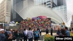 世贸中心双子塔原址