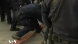Полиция схлестнулась с манифестантами