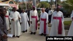 Bispos da CEAST em Benguela, Angola