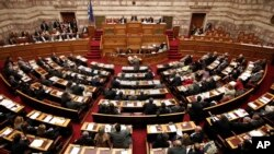 نشست نمایندگان پارلمان یونان - آرشیو