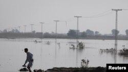 سیلاب سے متاثرہ علاقہ (فائل فوٹو)