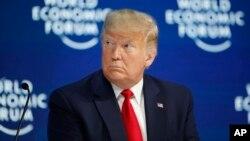 Predsednik SAD-a Donald Tramp na ekonomskom forumu u Davosu