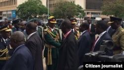 President Robert Mugabe & Generals