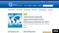 中國大學畢業生申請美國研究生院的人數連續兩年下降