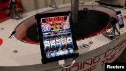 Phòng trưng bày các trò chơi đánh bạc trên mạng ở San Francisco.