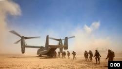 امریکايي ځواکونو په خپل بیان کې وویل په کومه طریقه چې یوناما د طالبانو د نشۍ توکو کارخانو ذکر کړې دی، دوی ورسره اتفاق نلري