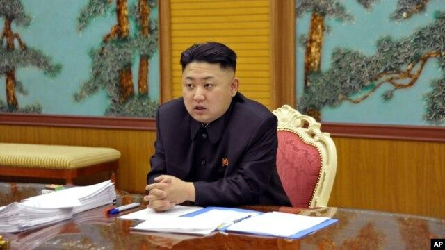 Lãnh tụ Bắc Triều Tiên Kim Jong Un.