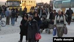 بازگشت زائران ایرانی از عراق پس از اربعین