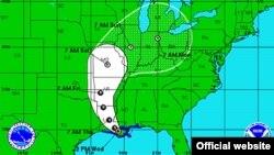 Bão nhiệt đới Isaac đi tới Louisiana