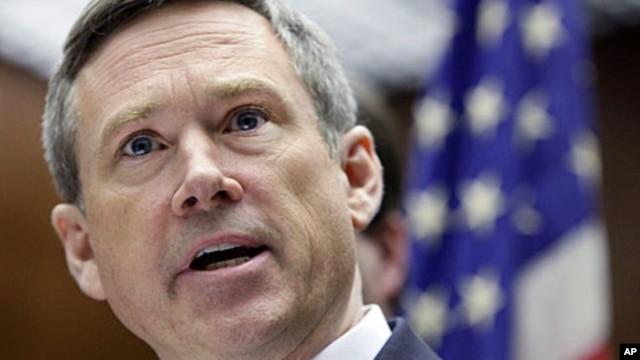 FILE - Republican Senator Mark Kirk from Illinois.
