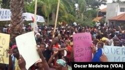 Manifestação de apoiantes da ADI