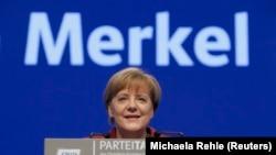 Angela Merkel, la chancelière allemande