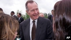 Former U.S. President George H.W. Bush. (File)