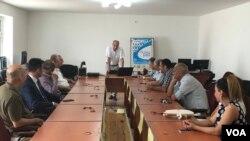 Ermənistan-Azərbaycan münaqişəsinin nizamlanmasında mülki diplomatiya ilə bağlı təqdimat