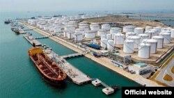 Iran's oil export
