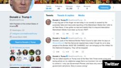 特朗普总统推特