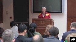 人權觀察主任理查森呼籲歐洲不要放鬆中國人權狀況