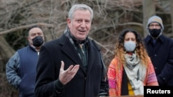 Walikota New York Bill de Blasio