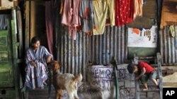 Sebuah daerah kumuh di Mumbai (foto: dok)