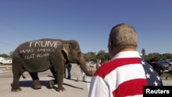 Según una reciente encuesta Donald Trump lidera las encuestas con un 27,5 por ciento de aceptación.