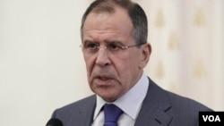 Menlu Rusia, Sergei Lavrov mengatakan bahwa pesawat Suriah tidak mengangkut senjata dan perlatan yang diangkut adalah kargo yang sah (foto: dok).