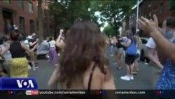 Festë në një lagje të Nju Jorkut në këtë kohë pandemie