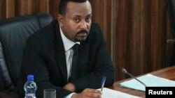 Abiy Ahmed au parlement à Addis Abeba, Ethiopie, le 1er juillet 2019.