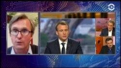 Макрон: удар по Сирии был легитимным
