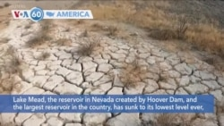 VOA60 Ameerikaa - Lake Mead, the largest water reservoir in the country, has sunk to its lowest level ever