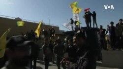Embaixada americana atacada em Bagdade no Iraque