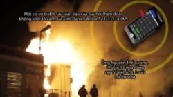 Tòa nhà của người Việt 'bị đốt cháy' trong vụ bạo loạn ở Mỹ