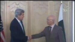 2013-08-01 美國之音視頻新聞: 克里會晤巴基斯坦新政府領袖
