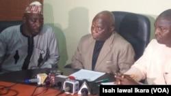 Shugaban Jam'iyyar PDP Jihar Kaduna, Mr. Felix Hassan Hyat