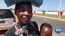 COVID-19: População em Manica obrigada a andar quilómetro a pé