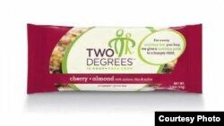 Two Degrees bars sell for about $2 each. (Courtesy Two Degrees)