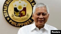 菲律宾外长罗萨里奥9月4日在马尼拉