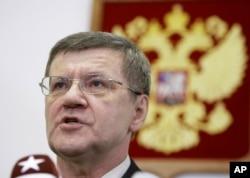 Yuri Çayka, Rusiya Baş Prokuroru