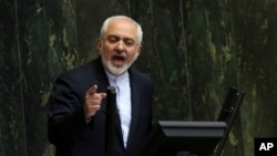 Menteri Luar Negeri Iran Mohammad Javad Zarif (Foto: dok).