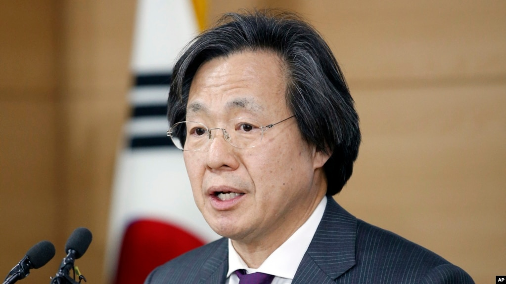 South korea confirms first case of zika virus south korean director of centers for disease control prevention jung ki suck speaks publicscrutiny Gallery